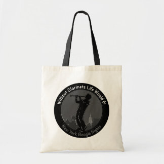 New York Boogie Nights Clarinet Tote Bags