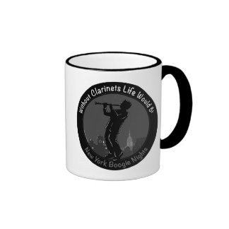 New York Boogie Nights Clarinet Ringer Coffee Mug