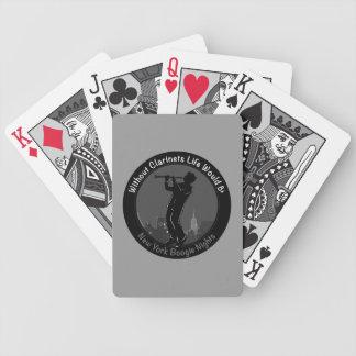 New York Boogie Nights Clarinet Poker Deck
