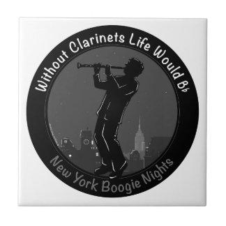 New York Boogie Nights Clarinet Tiles