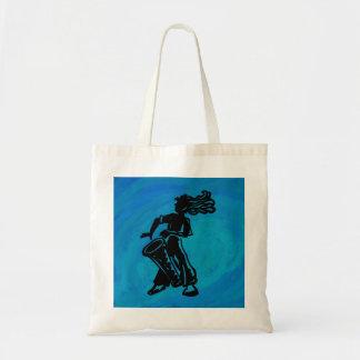 New York Boogie Nights Drum Blue Tote Bag