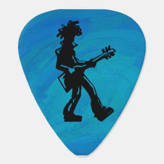 New York Boogie Nights Guitar Blue Guitar Pick