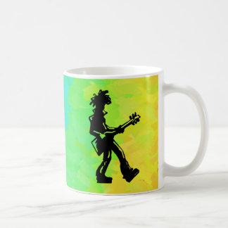 New York Boogie Nights Guitar Rainbow Coffee Mug