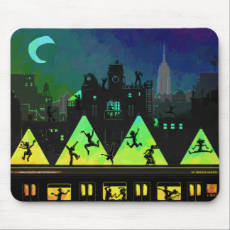 New York Boogie Nights Mouse Pad