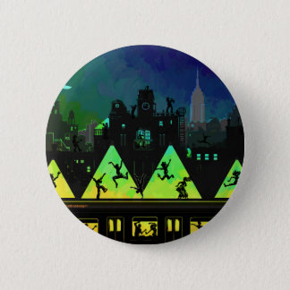 New York Boogie Nights Pinback Button