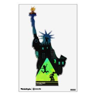 New York Boogie Nights Wall Sticker
