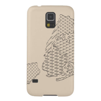 New York Borough Pattern Map Galaxy S5 Cases