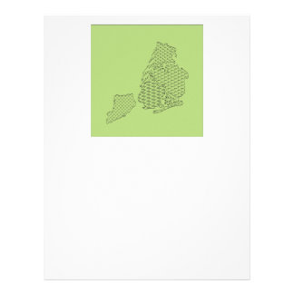 New York Borough Pattern Map Letterhead