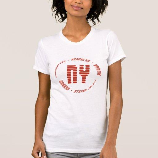 New York Boroughs T-Shirt