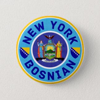 New York Bosnian American Pin Badge