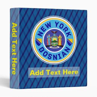 New York Bosnian American Ringer Binder