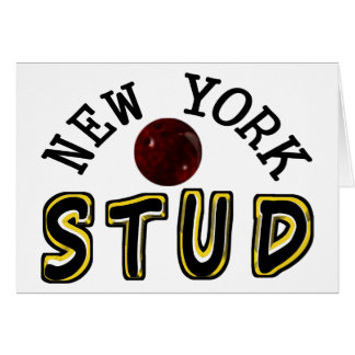 New York Bowling Stud Card