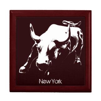 New York Boxes New York Bull Souvenir NY Giftbox Keepsake Boxes