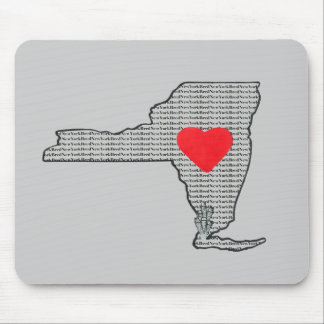 """New York Bred"" Mouse Pad"