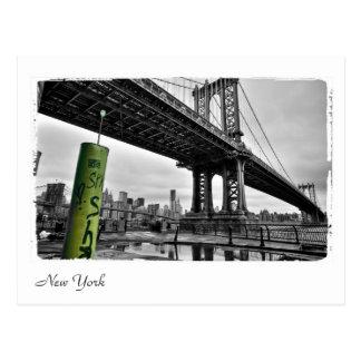 New York Bridge Postcard