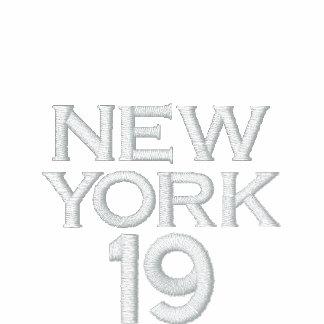 NEW YORK BRONX BOMBERS Basic Zip Hoodie #19-Men's