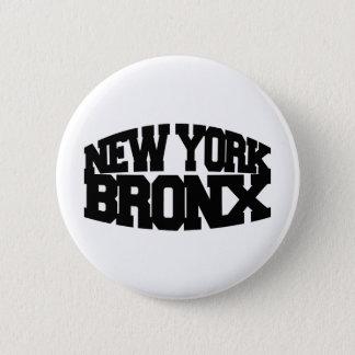 New York Bronx Button