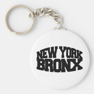 New York Bronx Keychain
