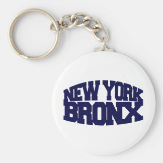 New York Bronx Keychain