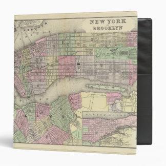 New York, Brooklyn 2 Vinyl Binder