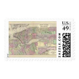 New York, Brooklyn 2 Postage Stamp