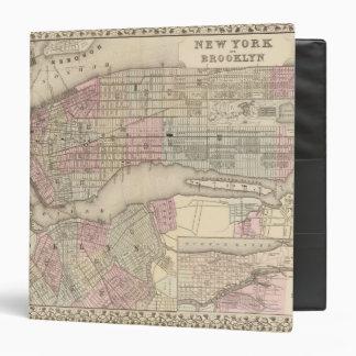 New York, Brooklyn 3 Vinyl Binder