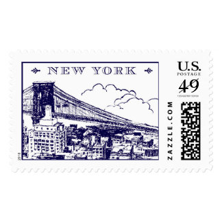 New York Brooklyn Bridge | Atelier Isabey Stamps