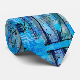 New York Brooklyn Bridge Neck Tie