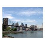 New York - Brooklyn Bridge Post Cards