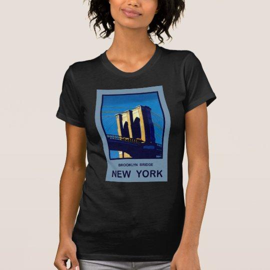 New York Brooklyn Bridge T-Shirt