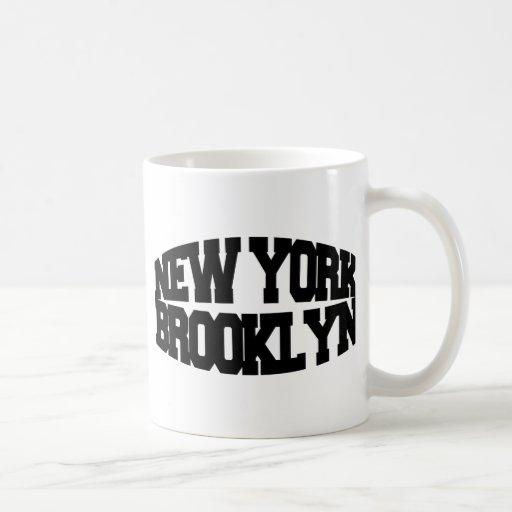 New York Brooklyn Coffee Mug