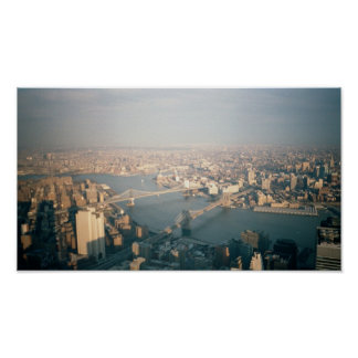 New York & Brooklyn from World Trade Center Posters