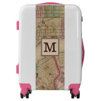 New York, Brooklyn Map by Mitchell | Monogram Luggage