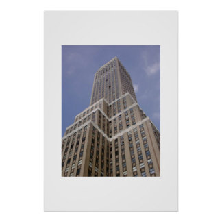 New York Building  Poster