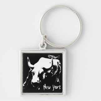 New York Bull Key Chain New York Market Souvenirs