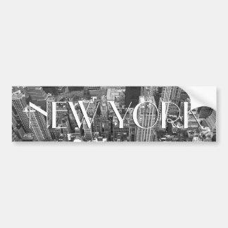 New York Bumper Sticker New York City Stickers Car Bumper Sticker