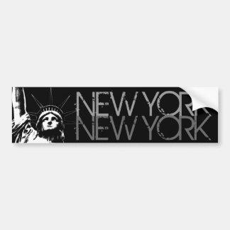 New York Bumper Sticker Statue of Liberty Stickers