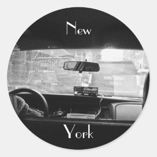 New York Cab Sticker