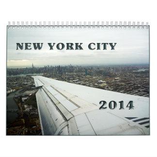 new york calendar 2014