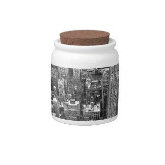 New York Candy Jar NY City Souvenir Cookie Jar