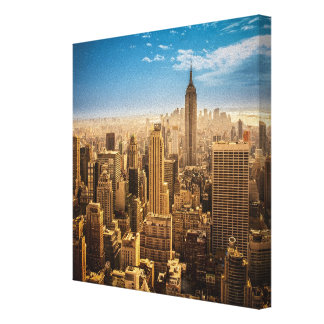 New York Stretched Canvas Prints