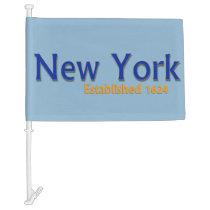 New York Car Flag