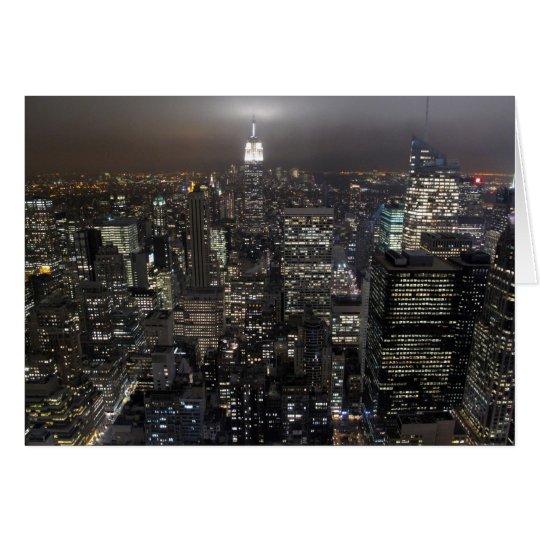 New York Card Cityscape Souvenir