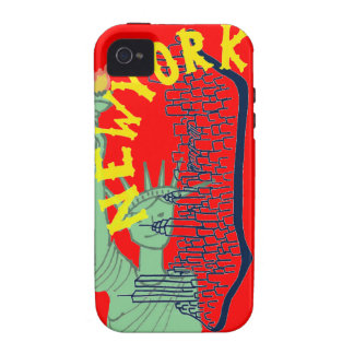 New York Case Red iPhone 4/4S Cover
