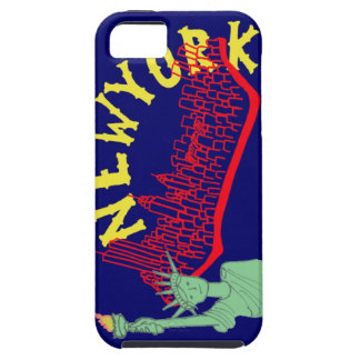 New York Case- Yankee Blue iPhone SE/5/5s Case