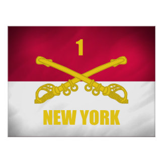 New York Cavalry Poster