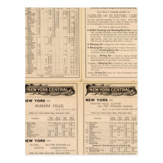 New York Central and Hudson River Railroad 2 Postcard