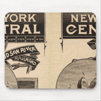 New York Central and Hudson River Railroad Mouse Pad