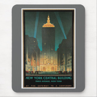 New York Central Building 1930 Mouse Pad