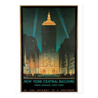New York Central Building Postcard